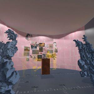 Visualisierung des Raumes zum Welttheater