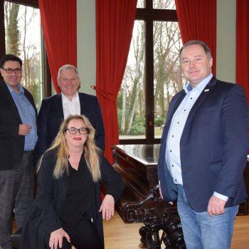 Foto (v. l. n r.): Dr. Sven Friedrich, Thomas Hacker, Katrin Budde, Thomas Bauske