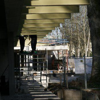 Baustelle des Richard Wagner Museums Bayreuth, 2014