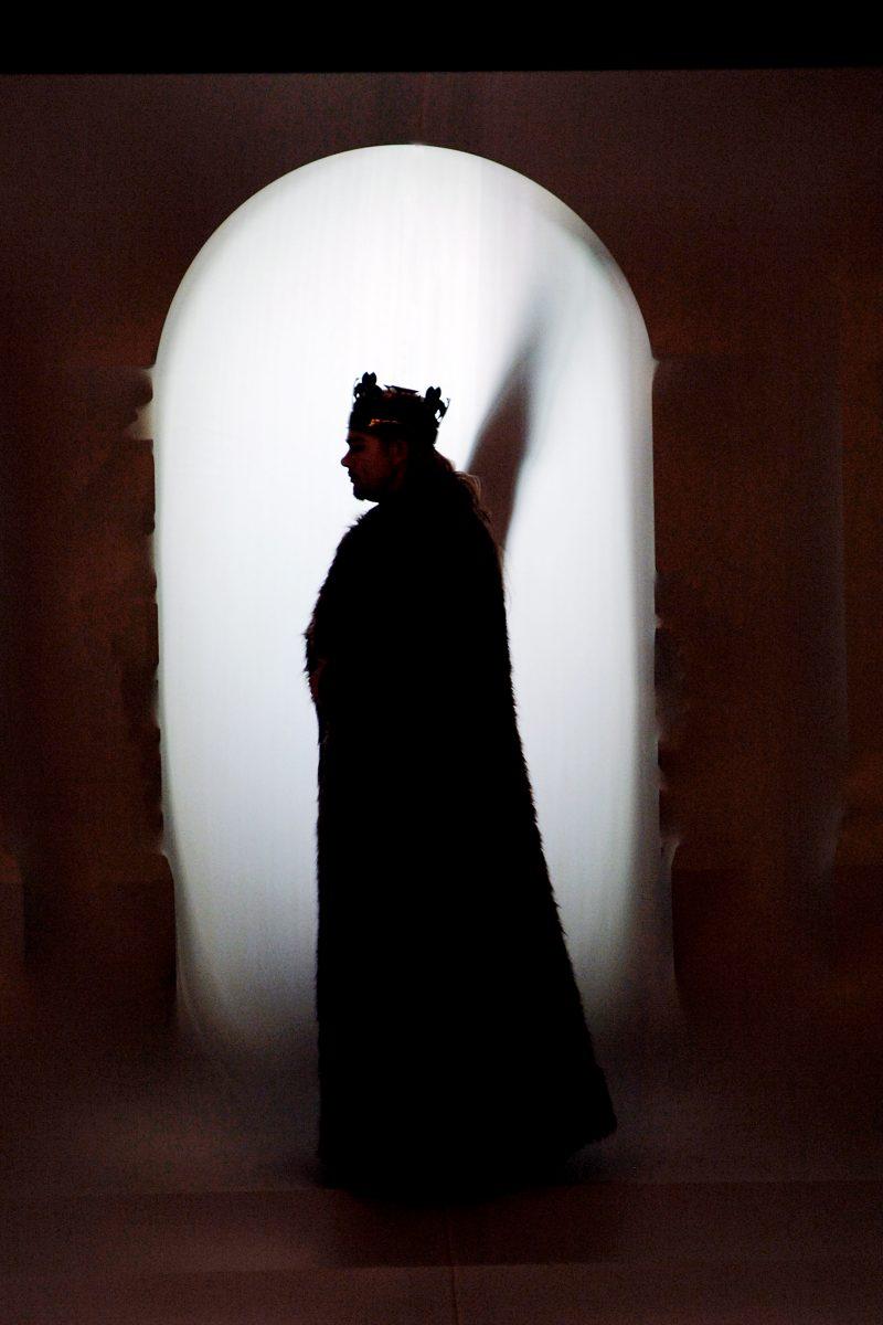 """Foto: Figur aus """"Tristan und Isolde"""", 2006"""