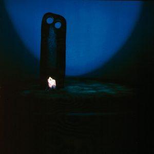 """Foto: Szene aus """"Tristan und Isolde"""", Inszenierung von Wieland Wagner, 1962"""