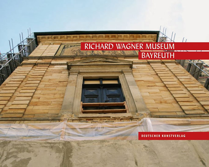 Titelseite des Museumsführers des Richard Wagner Museums Bayreuth, veröffentlich zur Neueröffnung 2015