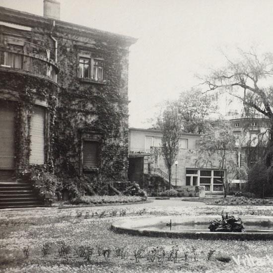 Foto: Haus Wahnfried, Gartenseite, um 1930