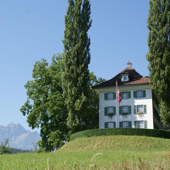 Foto: Außenaufnahme Richard Wagner Museum Luzern