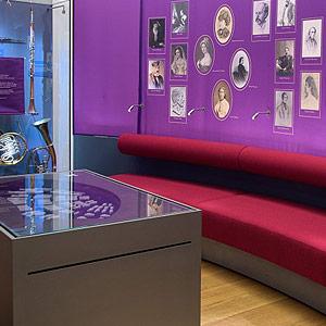 Foto: Raumeindruck Dauerausstellung Richard-Wagner-Stätten Graupa