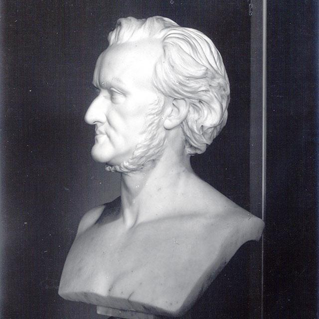 Foto: Büste Richard Wagners