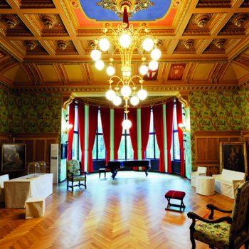 Foto des Saals in Haus Wahnfried, Ausschnitt