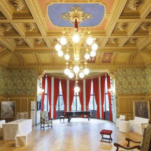 Foto des Saals in Haus Wahnfried