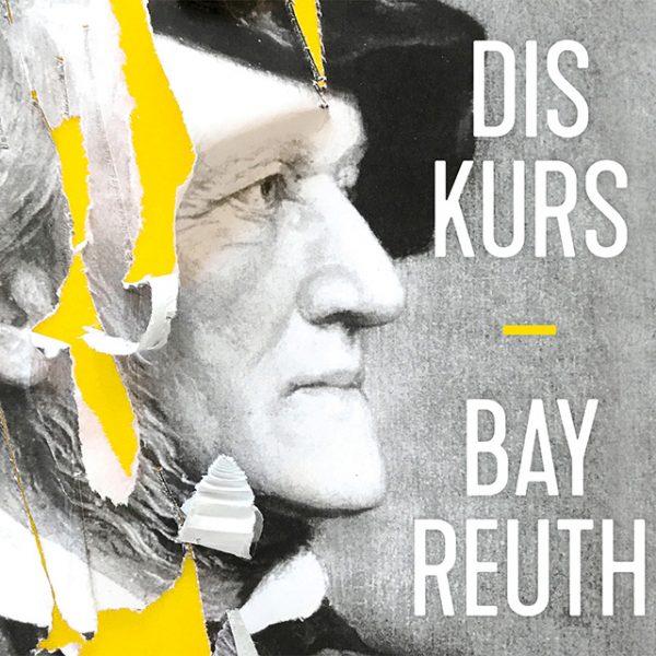 Logo 2019 der Veranstaltungsreihe Diskurs Bayreuth: Richard Wagner im Profil