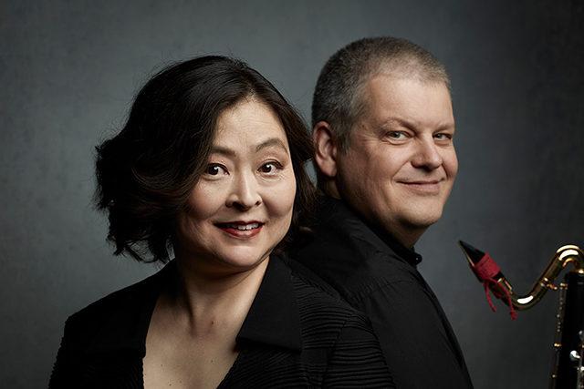 Foto: Doppelporträt Matthias Höfer und Manami Sano