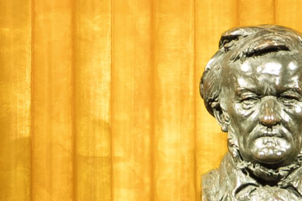 Foto: Büste Richard Wagner in der Schatzkammer in Haus Wahnfried