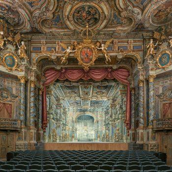 Foto des Markgräflichen Opernhauses, Blick zur Bühne