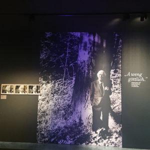 """Foto: Raumeindruck Ausstellung """"Der Prinzipal. Wolfgang Wagner und die 'Werkstatt Bayreuth'"""""""" © Nationalarchiv der Richard-Wagner-Stiftung, Bayreuth"""