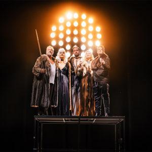 """Foto: Szenenfoto aus der Inszenierung des """"Rheingold"""" am Landestheater Coburg 2019"""