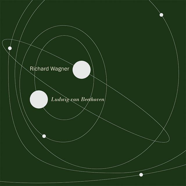 "Plakatmotiv Intervention ""Richard Wagner. Ludwig van Beethoven."", 17. März bis Juni 2020"