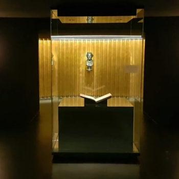 Foto: Partitur in der Schatzkammer von Haus Wahnfried
