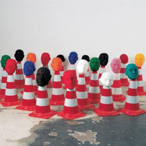 Foto: rosalie: Heldenstück, Installation, 1996