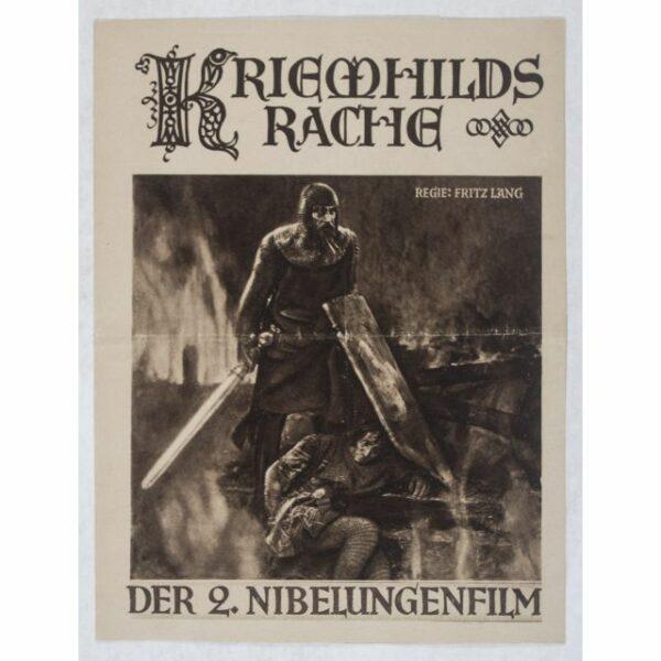 """Fritz Langs Stummfilm """"Die Nibelungen: Kriemhilds Rache"""" mit Konzeptmusik von Helmut W. Erdmann (Festival """"Zeit für Neue Musik"""" 2021) (2)"""