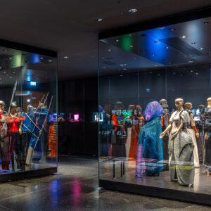 """rosalie: Kostüme für den """"Ring des Nibelungen"""", Bayreuther Festspiele 1994 bis 1998, im Richard Wagner Museum 2020"""